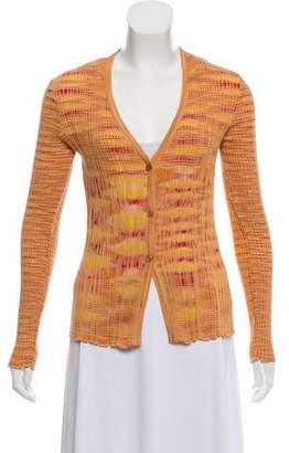 Missoni V-Neck Knit Cardigan