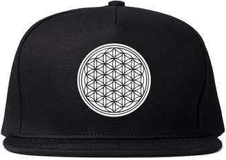Kings Of NY Flower of Life Chest Mens Snapback Hat Cap