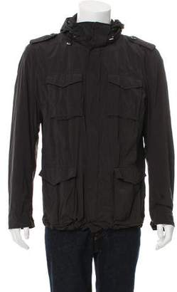 Herno Lightweight Zip-Front Jacket