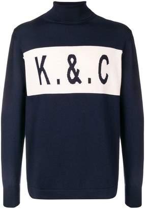 Kent & Curwen turtleneck knit top