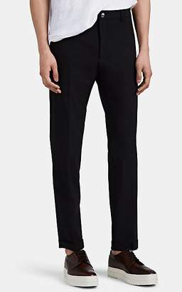 Prada Men's Stretch-Worsted Wool Trousers - Black