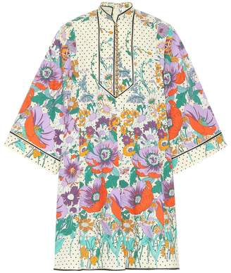 Gucci Floral cotton kaftan