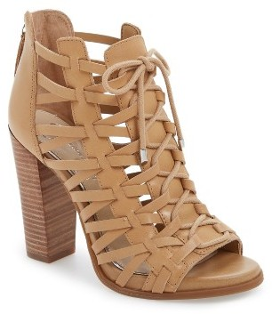 Women's Jessica Simpson Riana Lace-Up Bootie $118.95 thestylecure.com