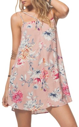 Women's Rip Curl Wildflower Floral Strappy Slipdress $44 thestylecure.com