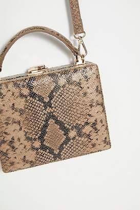 Mini Suitcase Croc Bag