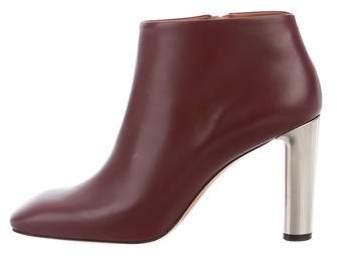 Céline Square-Toe Ankle Boots w/ Tags