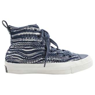 Converse Missoni X Blue Cloth Trainers