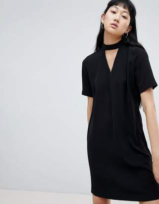 B.young Choker Detail Dress