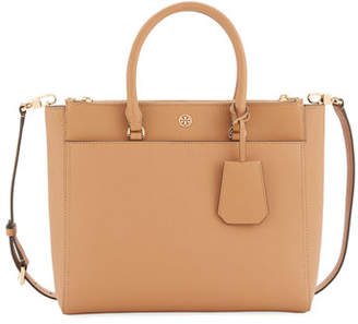 Tory Burch Robinson Large Zip-Top Tote Bag