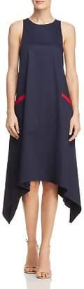 Badgley Mischka Trapeze Midi Dress