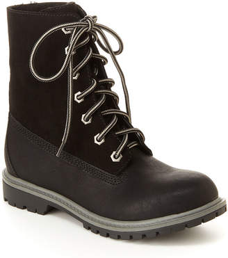 UNIONBAY Womens Gina Flat Heel Lace-up Boots