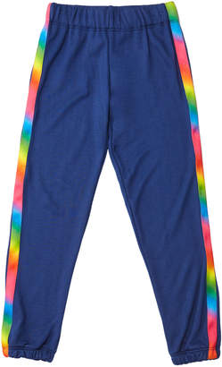 Flowers by Zoe Girl's Sweatpants w/ Rainbow Taping, Size S-XL
