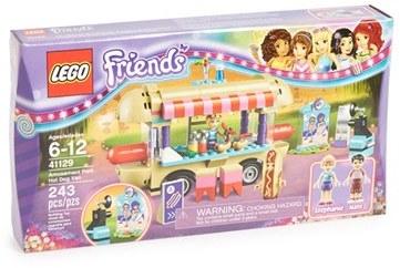 Lego Friends Amusement Park Hot Dog Van - 41129