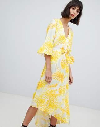 InWear Selia Asymmetric Hem Print Dress