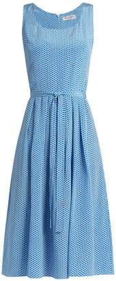 HVN Jordan heart-print sleeveless dress $587 thestylecure.com