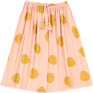 SOFT GALLERY Paige Polka Dot Maxi Skirt $74.40 thestylecure.com
