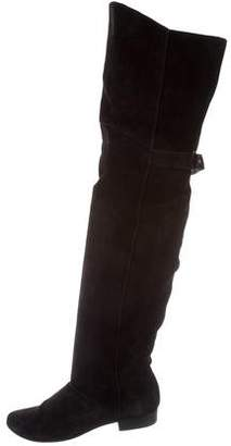 Joie Suede Over-The-Knee Boots