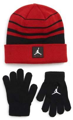 Nike JORDAN Jordan Air Beanie & Gloves Set