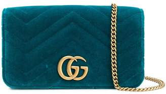 Gucci GG Marmont chevron clutch