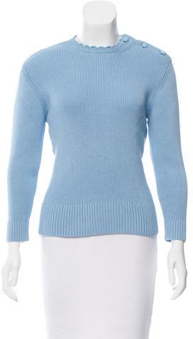 Nina RicciNina Ricci Crew Neck Sweater