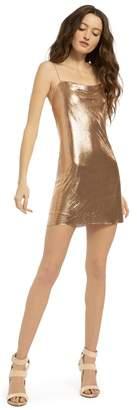 Alice + Olivia Harmony Chainmail Mini Dress