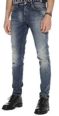 Scotch & Soda Distressed Faded Jeans