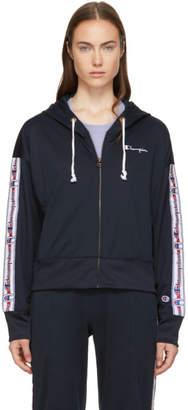 Champion Reverse Weave Navy Zip Hoodie