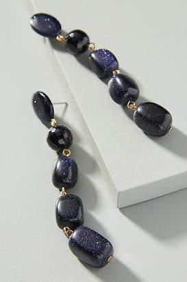 Anthropologie Stacking Stones Drop Earrings