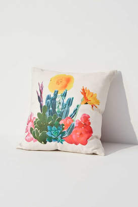 Urban Outfitters Ted Feighan For Cactus Bloom Throw Pillow