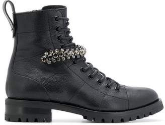Jimmy Choo Cruz combat ankle boots
