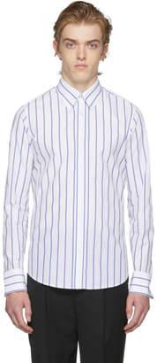 Kenzo White Stripe Oversized 60s Shirt