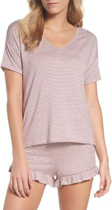 BB Dakota Wilona Back Tie Stripe Tee