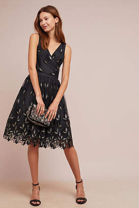 Shoshanna Joalyn Metallic Dress