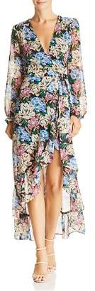 WAYF Only You High/Low Floral Wrap Dress - 100% Exclusive