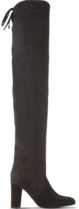 Dune Sibyl suede over-the-knee boots