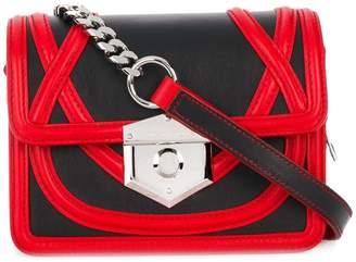Alexander McQueen foldover top crossbody bag