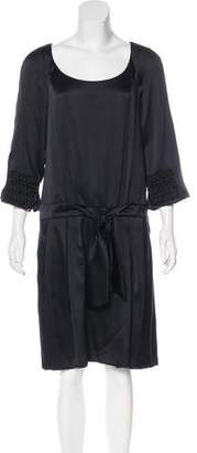 Christian Lacroix Silk Knee-Length Dress