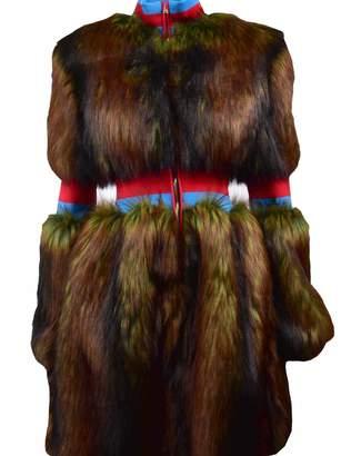Stella Jean Eco Fur Coat