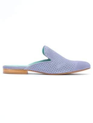 Blue Bird Shoes suede mules