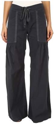 XCVI Willow Wide Leg Stretch Poplin Pants Women's Casual Pants