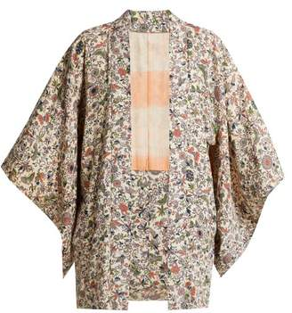 Elizabeth and James Penny Vintage Kimono - Womens - Ivory Multi