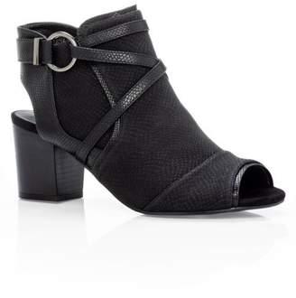 City Chic Citychic Tori Textured Boot - black