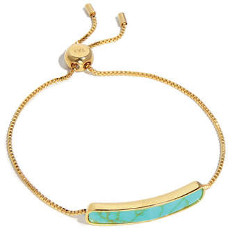 Tai Synthetic Turquoise ID Tennis Bracelet