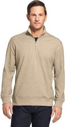 Van Heusen Men's Flex Fleece Quarter-Zip Top