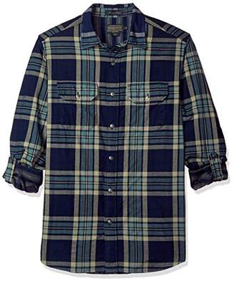 Pendleton Men's Long Sleeve Classic-fit Thomas Kay Doubleface Shirt