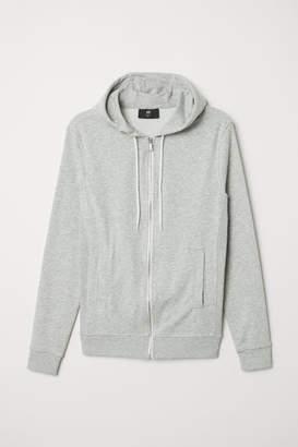 H&M Slim Fit Hooded Jacket - Gray
