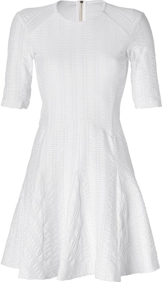 Rag and Bone Rag & Bone White Niki Flare Dress
