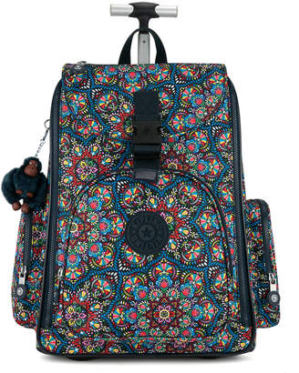 Kipling Alcatraz II Printed Rolling Laptop Backpack