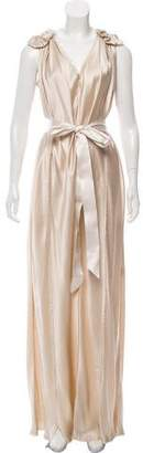 Lanvin Silk Robe Mariee Long Dress w/ Tags