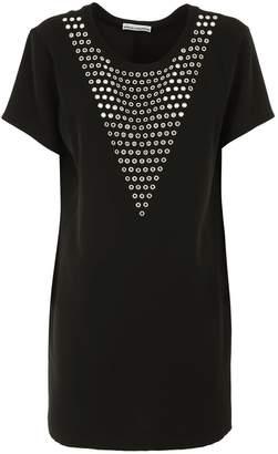 Paco Rabanne Embellished T-shirt Dress